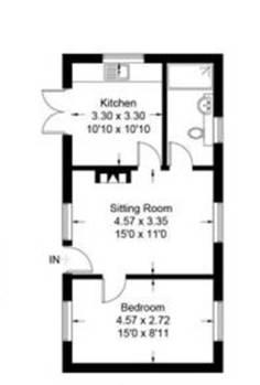 Thyme Cottage floorplan